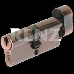 Цилиндровый механизм RENZ 70 мм. CS 70-H. AB бронза античная