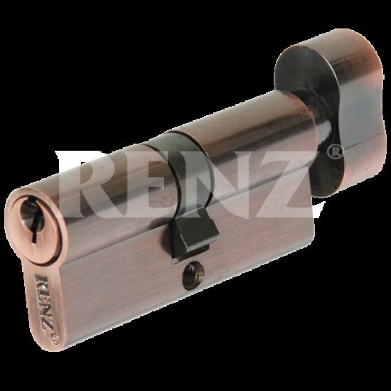Цилиндровый механизм RENZ 70 мм. CS 70-H. SN никель матовый