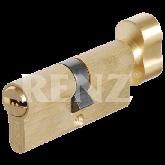 Цилиндровый механизм RENZ 70 мм. CC 70-H. SB латунь матовая