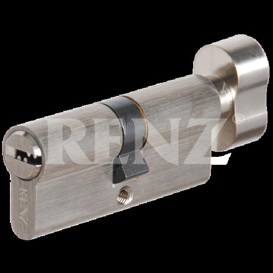 Цилиндровый механизм RENZ 70 мм. CC 70-H. SN никель матовый
