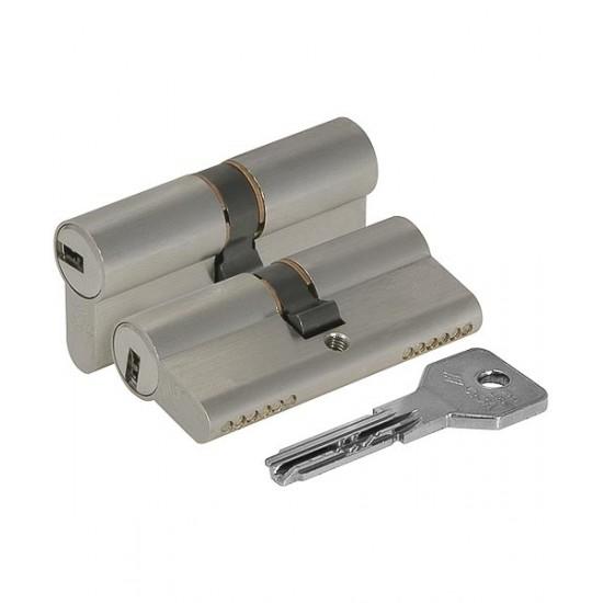 Цилиндровый механизм CISA ASIX OE300-29.12 (90 мм/40+10+40) никель