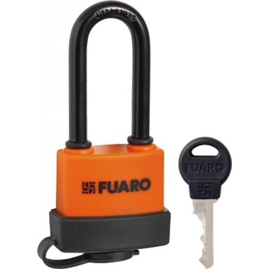 """Замок навесной FUARO PL-3640 LS (40 мм) 3 """"англ.""""кл. (удлиненная дужка) БЛИСТЕР"""
