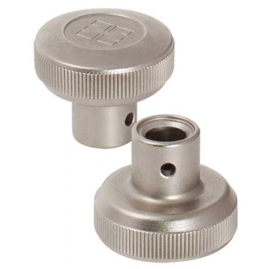 Вертушка под цилиндровый механизм MOTTURA 99.505 NS0C (d 8.1). матовый никель