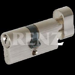 Цилиндровый механизм RENZ 60 мм. CS 60-H. SN никель матовый