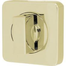 Ручка Armadillo (Армадилло) поворотная WC-BOLT BK6/SQ-21GP-2 золото