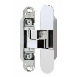 Дверная петля скрытой установки AGB Е302000206 (хром) петля ECLIPSE 3.0 (4 накладки в комплекте)