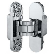 Дверная петля скрытой установки AGB Е302000306 (хром) петля ECLIPSE 2.0 (4 накладки в комплекте)