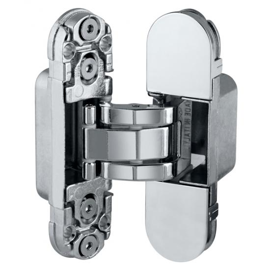 Дверная петля скрытой установки Е302000306 (хром) петля ECLIPSE 2.0 (4 накладки в комплекте)