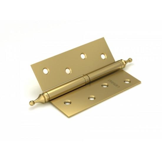 Петля съемная FUARO 410-4 100x75x2,5 SB мат. золото левая