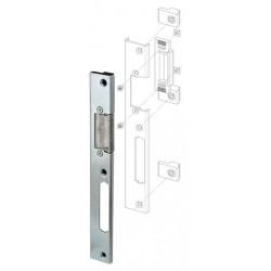 Регулируемая ответная планка для профильных дверей FUARO SP-002-L (230x30 мм) (KBE)