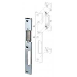 Регулируемая ответная планка для профильных дверей FUARO SP-003-L (230x30 мм) (двустворчатых) (KBE)