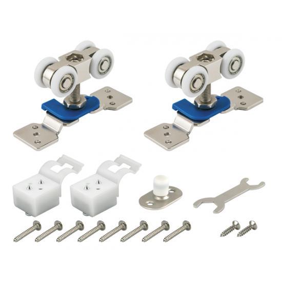 Комплект роликов для раздвижных дверей ARMADILLO DIY Comfort 60/4 kit (877)