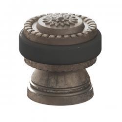 Упор дверной Armadillo (Армадилло) DH062 CL/AS-9 Античное серебро