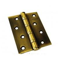 Петля латунная PALOMA 100 мм BH 100*70*3-4BB FH. AB бронза античная
