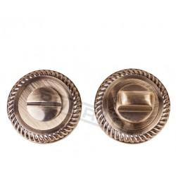 Завертка к ручкам PUERTO BK AL 17. бронза античная
