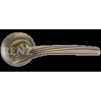 Ручка дверная RENZ «ФАБРИЦИО» DH 82-08. AB бронза античная