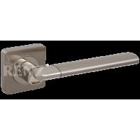 Ручка дверная RENZ «МАРЧЕЛЛО» DH 57-02. SN/NP никель матовый/никель блестящий