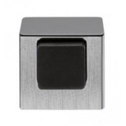 Ограничитель дверной напольный COLOMBO LC112 матовый хром (CROMAT)