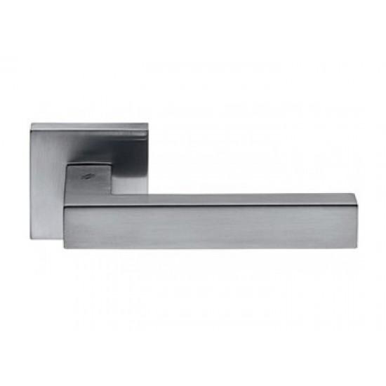 Ручка дверная раздельная COLOMBO ELLESSE матовый хром (CROMAT)