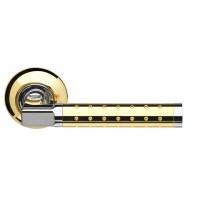 Ручка раздельная ARMADILLO Eridan LD37-1SG/CP-1 матовое золото/хром
