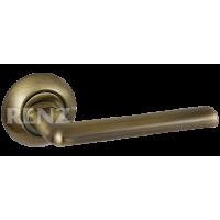 Ручка дверная RENZ «ТРЕНТО» DH 19-08. AB бронза античная