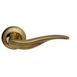 Ручка раздельная ARMADILLO Lora LD39-1AB/GP-7 бронза/золото