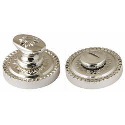 Ручка поворотная ARMADILLO WC-BOLT BK6/CL-SILVER-925 Серебро 925