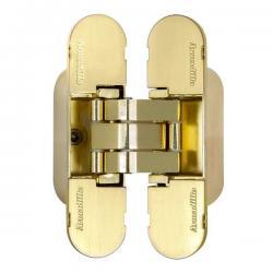 Петля скрытой Armadillo (Армадилло) установки с 3D-регулировкой 9540UN3D SG Мат. золото