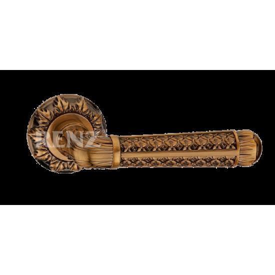 Ручка дверная RENZ «АЛЬБИНО» DH 63-10. PCF кофе блестящий