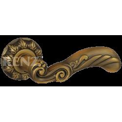 Ручка дверная RENZ «ПАОЛА» DH 65-10. CF кофе