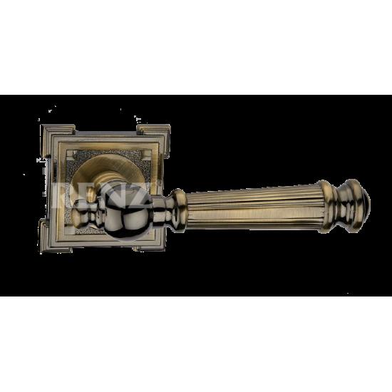 Ручка дверная RENZ «ВАЛЕНСИЯ» DH 69-19. AB бронза античная