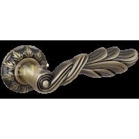 Ручка дверная RENZ «ЛУЧИЯ» DH 67-10.  MAB бронза античная матовая