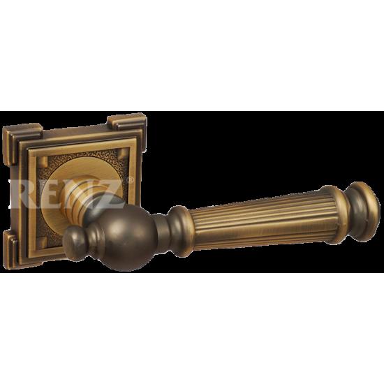 Ручка дверная RENZ «ВАЛЕНСИЯ» DH 69-19. CF кофе