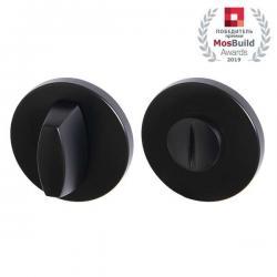Ручка поворотная Armadillo (Армадилло) WC-BOLT BK6 URS BL Черный