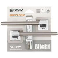 Ручка раздельная Fuaro (Фуаро) GALAXY XM/HD SN/CP-3 матовый никель/хром