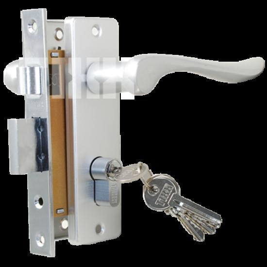Комплект дверной TIXX LH 7037-125. AC медь античная