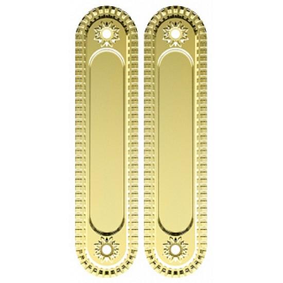 Ручка для раздвижных дверей ARMADILLO SH010/CL GOLD-24 Золото 24К