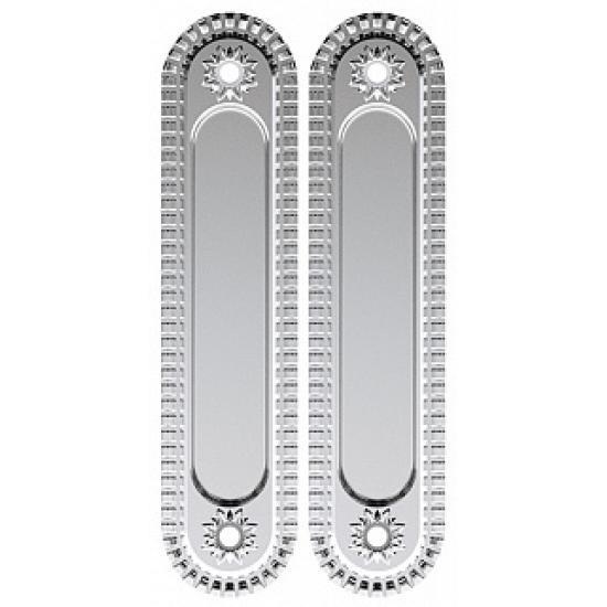 Ручка для раздвижных дверей ARMADILLO SH010/CL SILVER-925 Серебро 925