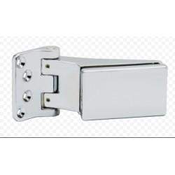Петля для стеклянных дверей  GDH 70. CP хром блестящий