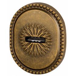 Декоративная накладка на сувальдный замок ARMADILLO PS-DEC CL (ATC Protector 1) OB-13 Античная бронза