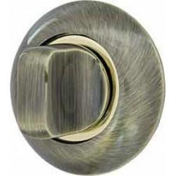 Ручка поворотная ARMADILLO WC-BOLT BK6-1AB/GP-7 бронза/золото
