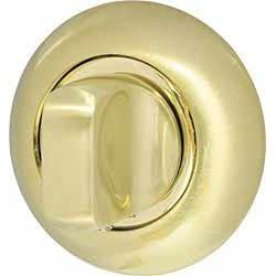 Ручка поворотная ARMADILLO WC-BOLT BKW8-1SG/GP-4 матовое золото/золото, без отв.
