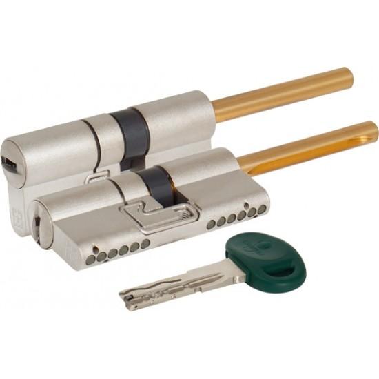 Цилиндровый механизм под вертушку (дл. шток) MOTTURA C48P413101C5 (72 мм/36+10+26) МАТ.НИКЕЛЬ