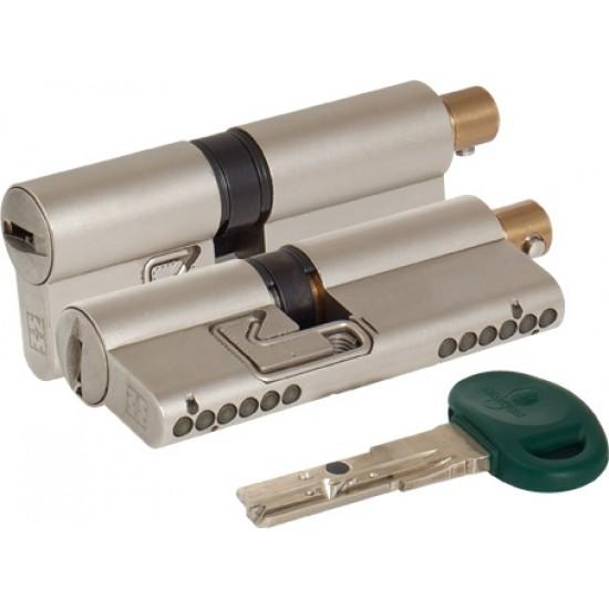 Цилиндровый механизм под вертушку MOTTURA C31F313101C5 (62 мм/26+10+26) МАТ.НИКЕЛЬ
