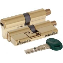 Цилиндровый механизм под вертушку MOTTURA C31F363601TC5 (72 мм/31+10+31) ЛАТУНЬ (PVD)