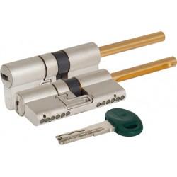Цилиндровый механизм под вертушку (дл. шток) MOTTURA C48P513101C5 (82 мм/46+10+26) МАТ.НИКЕЛЬ