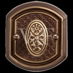 """Завертка к ручке """"Ризарди"""".BK 71. CB бронза шоколадная"""
