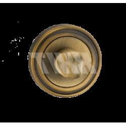 Завертка к ручкам TIXX BK 06. MAB бронза античная матовая