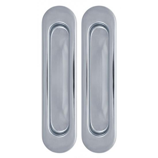 Ручка для раздвижных дверей ARMADILLO SH010-СP-8 хром