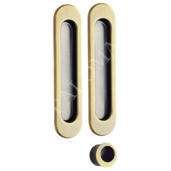 Ручки для раздвижных дверей PALOMA SDH 401. AB бронза античная